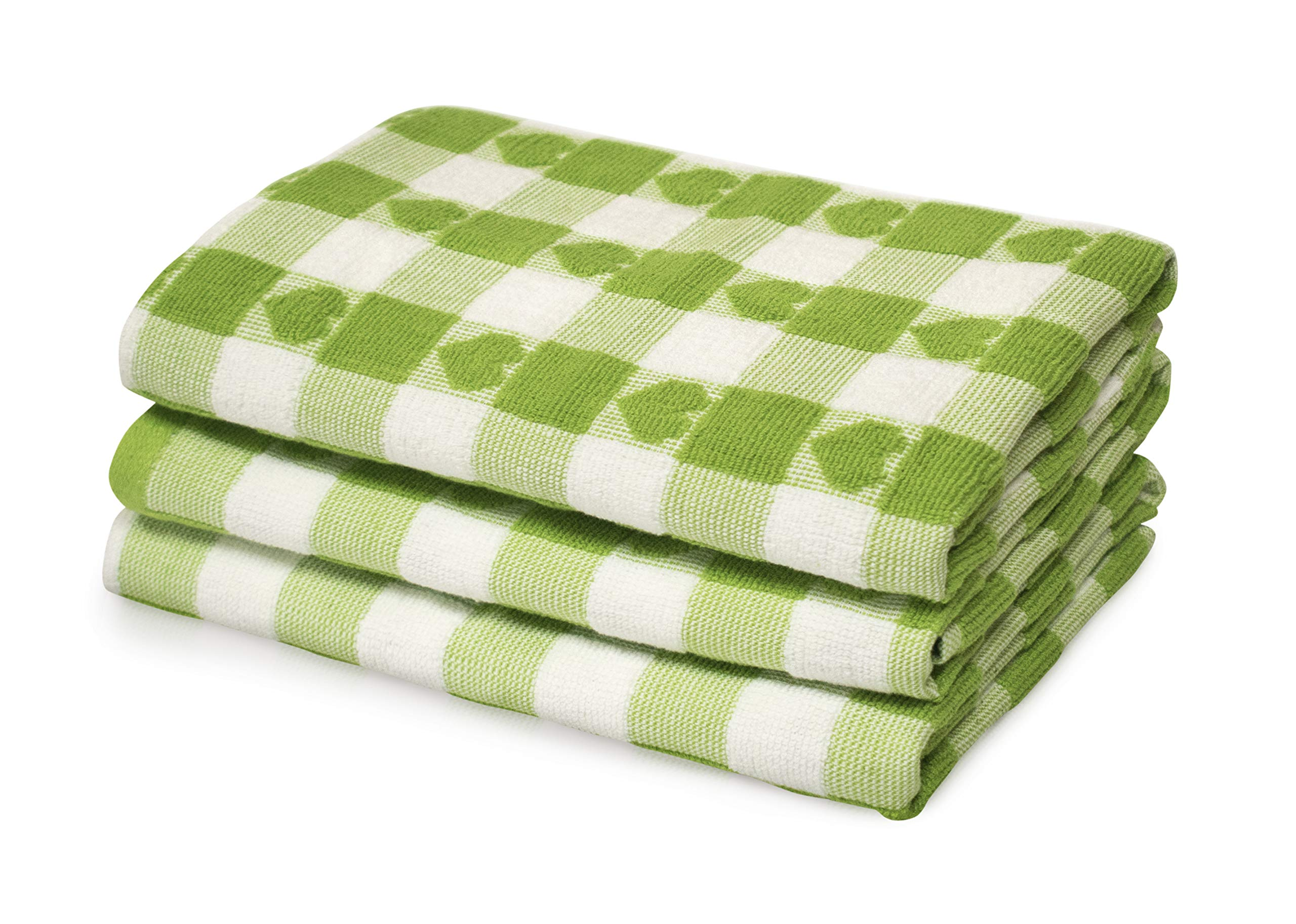 100/%Cotton JUMBO TEA TOWEL Mono Check Terry Towels Large Size Super Absorbent UK