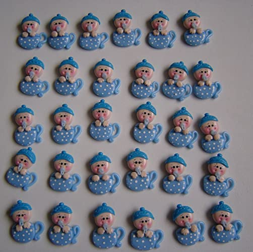 10 tazas bebe Porcelana Fria Bautizo, Nacimiento, Baby Shower, Niño, Niña handmade