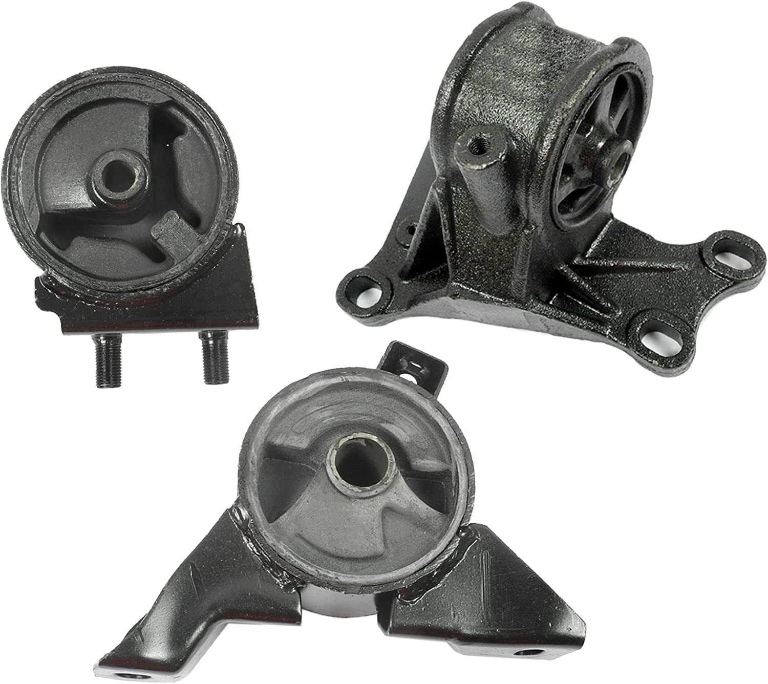 Transmission Motor Mounts Set Kit 2.0 L For Mazda 626