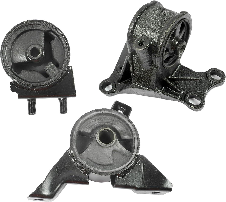 Transmission Motor Mounts Set Kit 2.0 L For Mazda 626