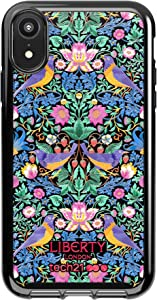 tech21 Pure Design for Apple iPhone XR Liberty London Phone Case with 10 ft Drop Protection, Strawberry Thief