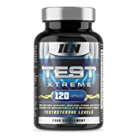 Iron Labs Nutrition, Test Xtreme – Contains Zinc which contributes to normal Testosterone Levels – 120 Capsules