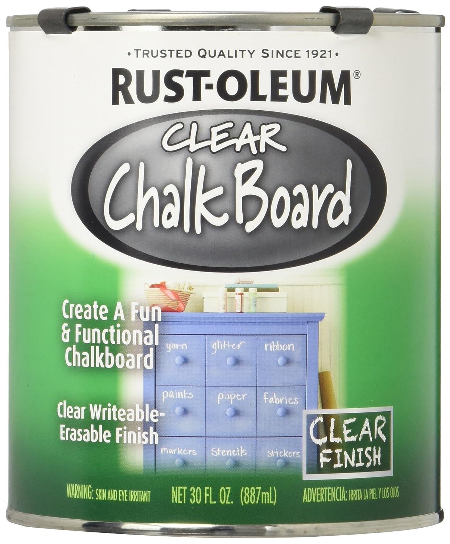 Amazon.com: Pintura para pizarra Rust-Oleum Chalkboard, 30 ...