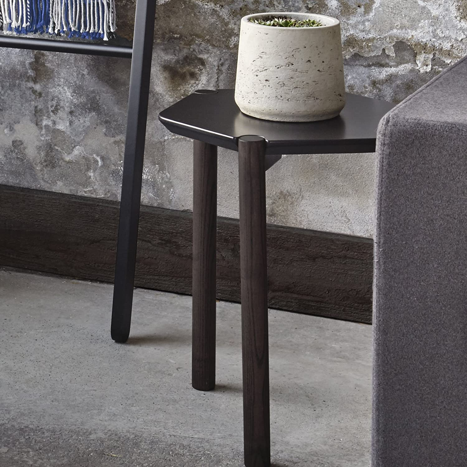 Copper//Black Metal Sagebrook Home 11025 Metal Accent Table 16.5 x 16.5 x 27.5 Inches