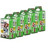 Fujifilm 600015771 Instax Mini Film, White Multi-Pack (100 Exposures)