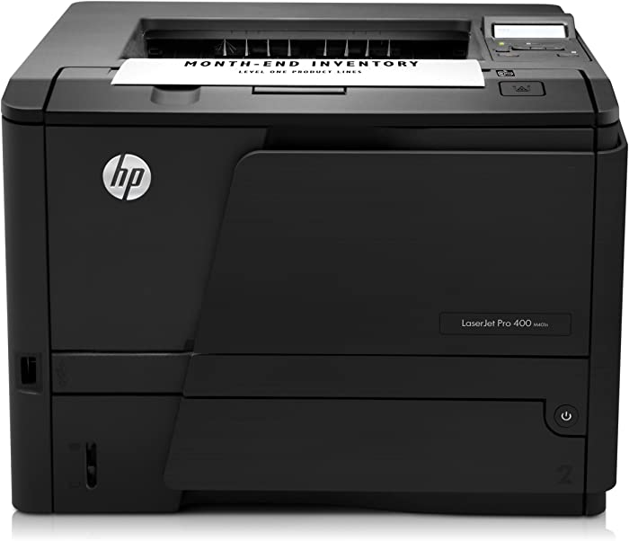 HP LaserJet Pro 400 M401n Monochrome Printer (CZ195A) (Renewed)