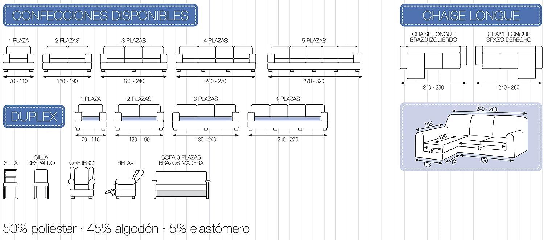 DECORACION NUEVO ESTILO- Funda de sofá TUNEZ en Tejido ...