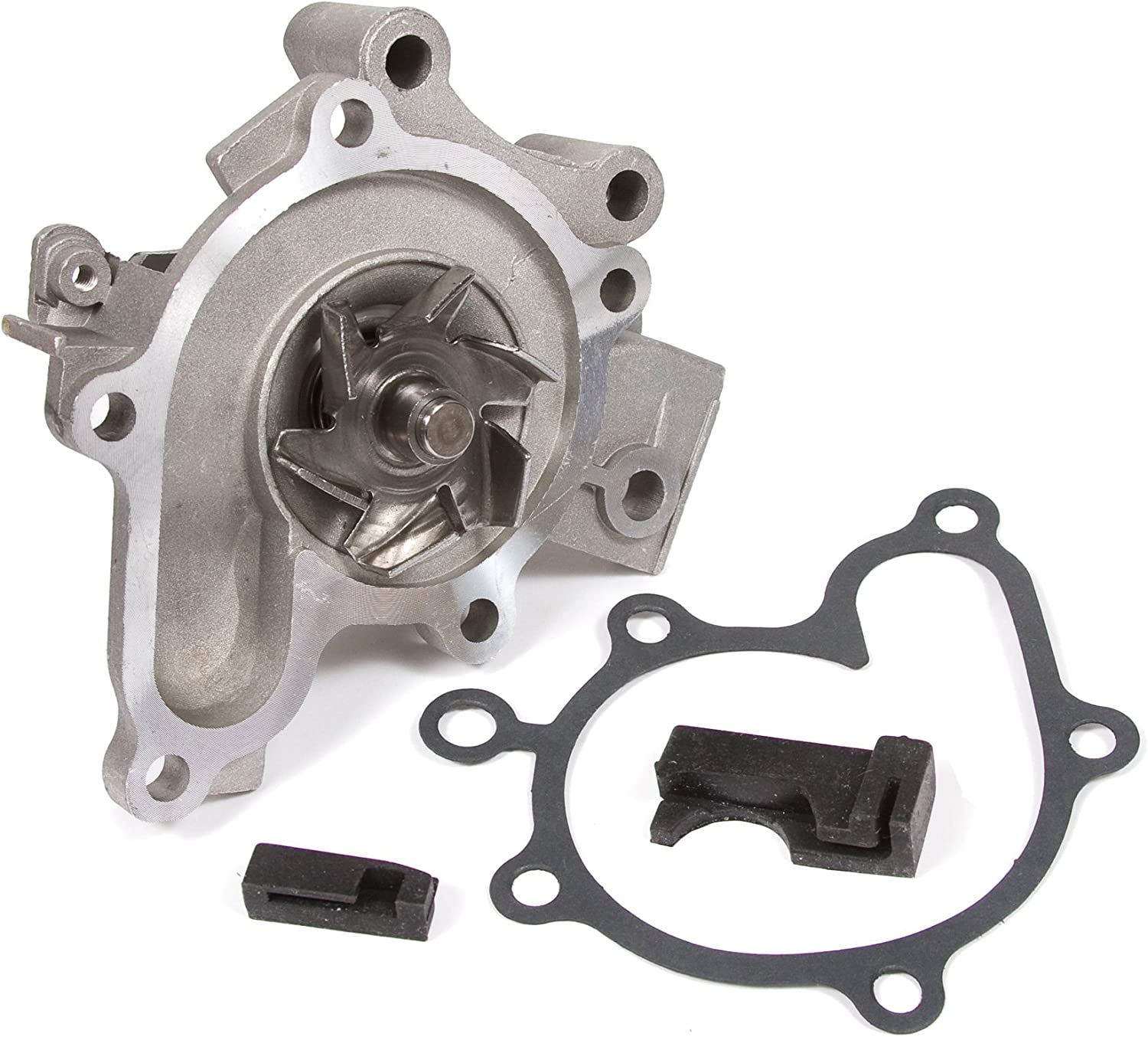 Evergreen TBK316VCT Compatible With 99-00 Mazda Protege 1.8L DOHC FP Timing Belt Kit Valve Cover Gasket Water Pump