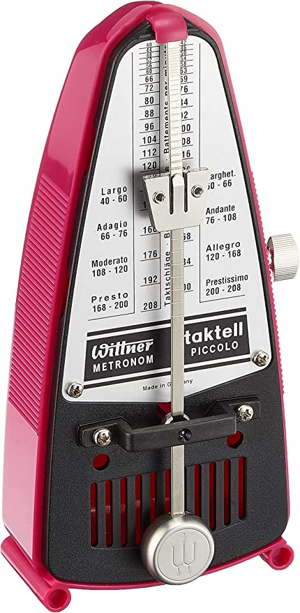 Amazon Com Wittner 903088 Taktell Piccolo Metronome Pink Musical Instruments