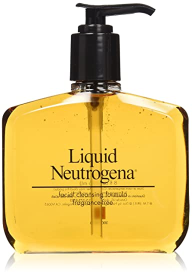 formula Neutrogena liquid facial cleansing