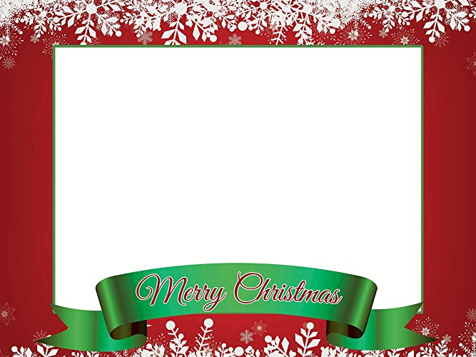 Amazoncom Christmas Decorations Photo Booth Frame Christmas