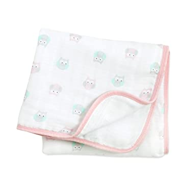 Image result for Aden + Anais owl Ideal Baby Muslin Blanket