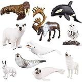 Bulk Bags Collection Arctic Animals Bulk Bag 48 Pieces Non-toxic a Safari Ltd