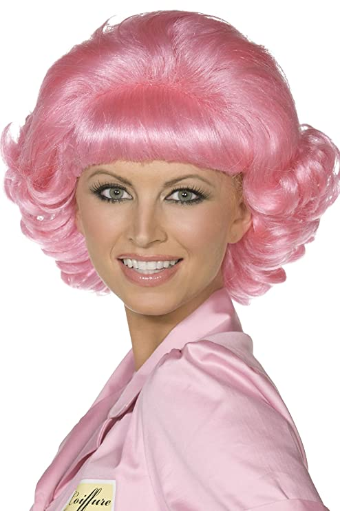 Amazon.com: Smiffys Officially Licensed Grease Frenchy Wig: Toys & Games