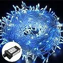 Excelvan Safe Low Voltage 8 Modes 250 LEDs Dimmable Fairy String Lights