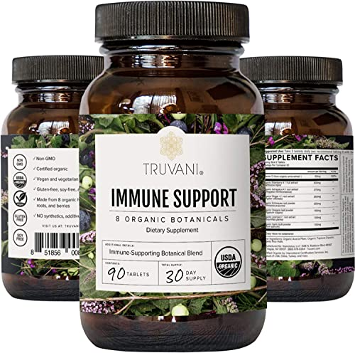 Truvani Immune Support Organic Herbal Supplement