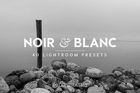 Amazon com: Noir & Blanc Lightroom Presets [Download]: Software