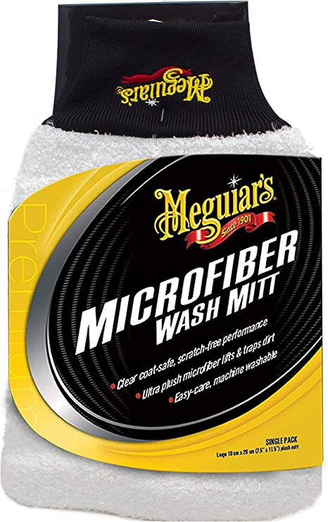 Meguiar/'s X3002 Microfiber Wash Mitt
