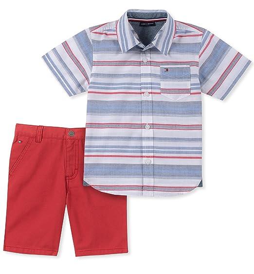 Tommy Hilfiger Bebé-Niños Set de Pantalones Cortos - Multi - 24 ...