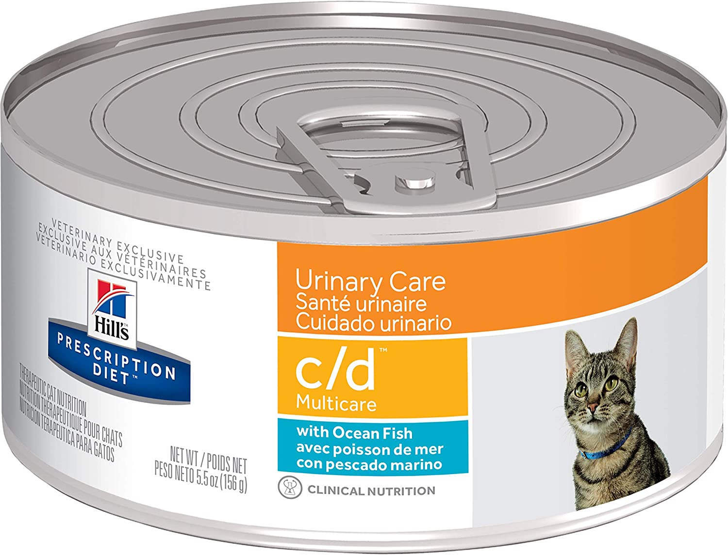 Hill's Prescription Diet c/d Multicare Urinary Care with Ocean Fish Cat Food
