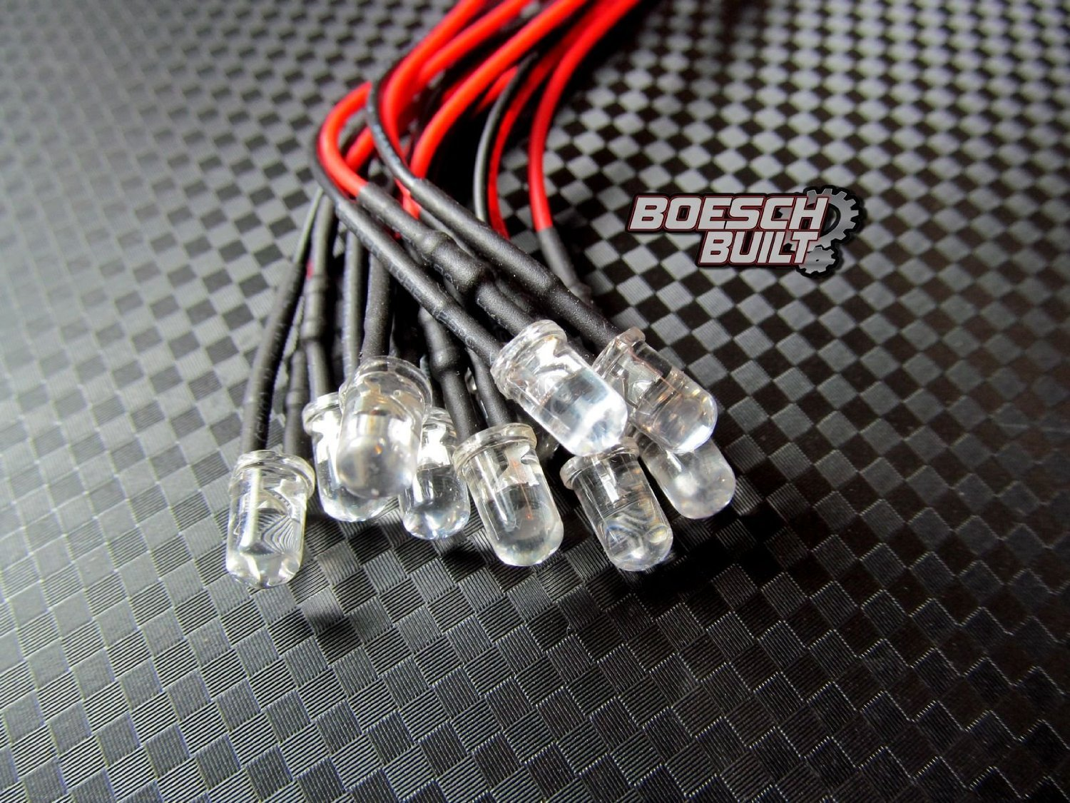 Amazon.com: Qty 10- LED Lights- 3mm, 5mm, 8mm, 10mm pre wired 12 ...