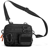 Fitdom Small Tactical Sling Crossbody Messenger Chest Pack Bag