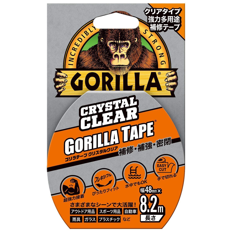 Gorilla Glue ゴリラ強力多用途補修テープ クリスタルクリア