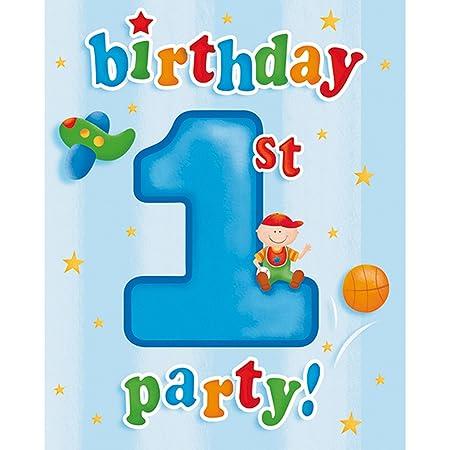 Creative Party - Invitaciones para cumpleaños Fun At 1 ...