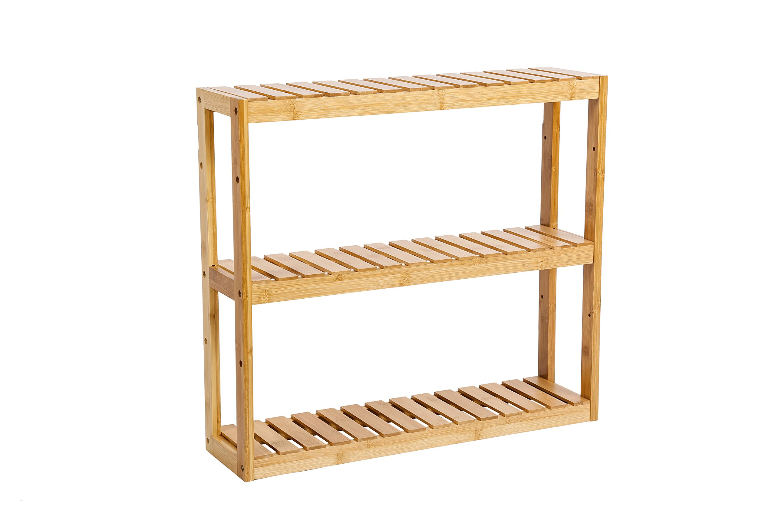 Zhuoyue Wall Mounted Bathroom Organizer Rack with 3 Shelves