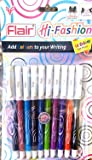 Flair Hi-Fashion Colored Gel Pen (10 Colours) (Pack of 3 Set)