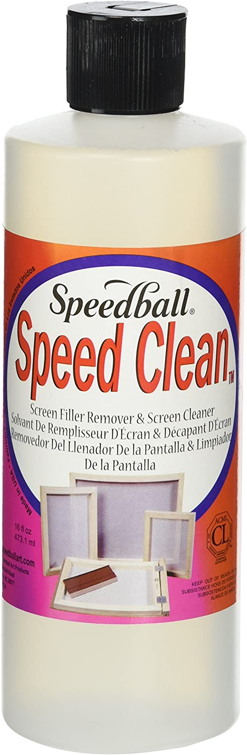 Speedball Speed Clean Screen Cleaner for Screen Printing