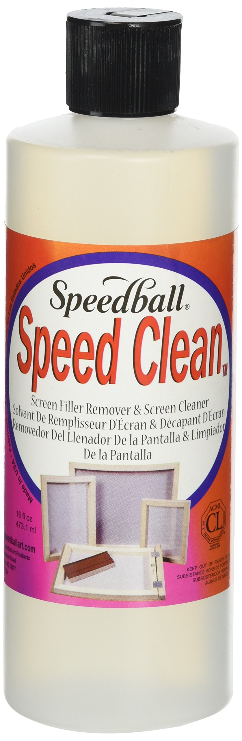 Speedball Speed Clean Screen Cleaner for Screen Printing by Speedball