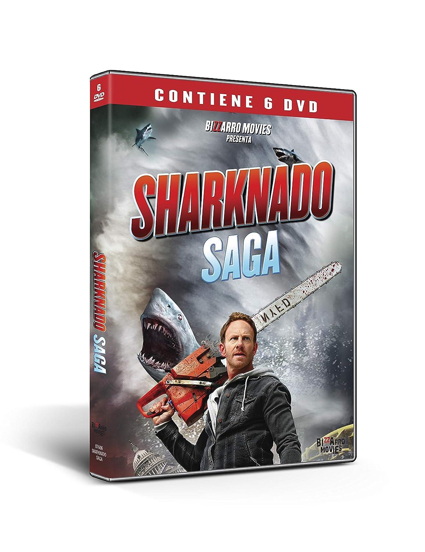 Sharknado 1-6 cof. [Italia] [DVD]: Amazon.es: Ian Ziering, Tara ...