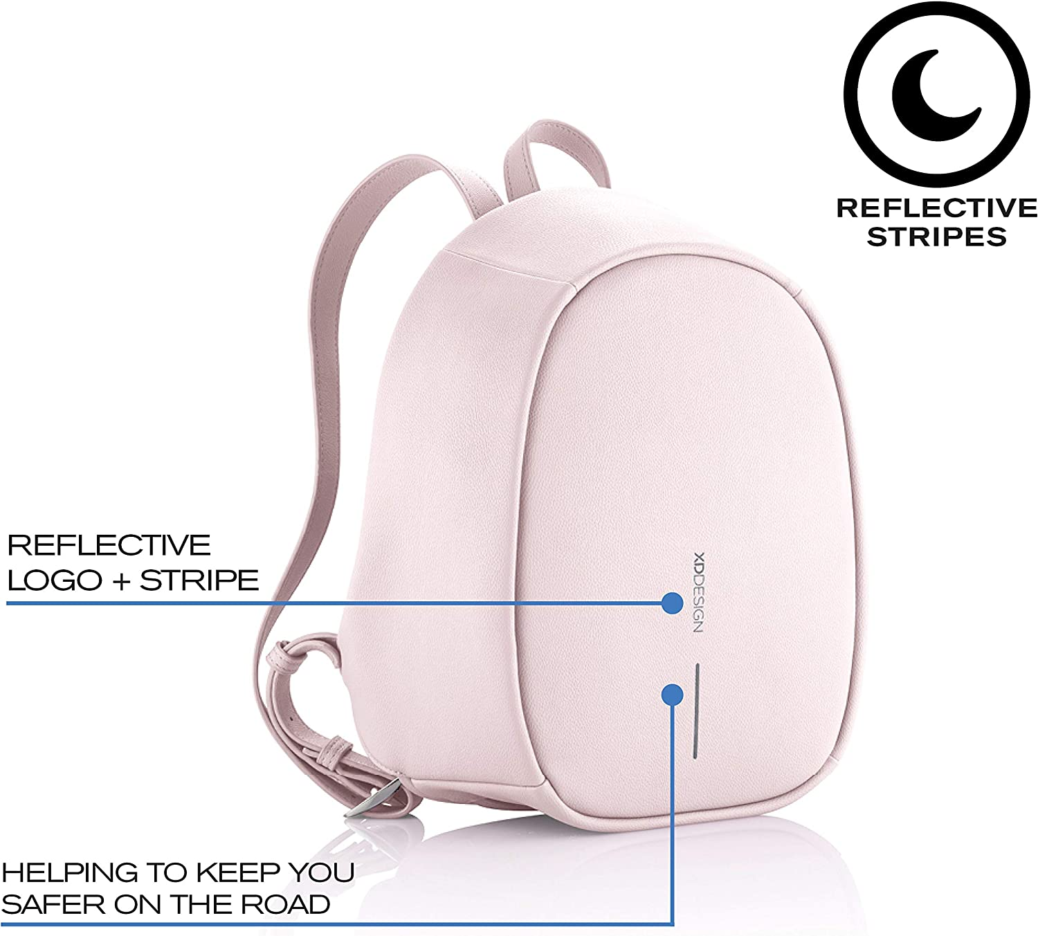 XD Design Elle Fashion Anti-Theft Backpack Womens Bag