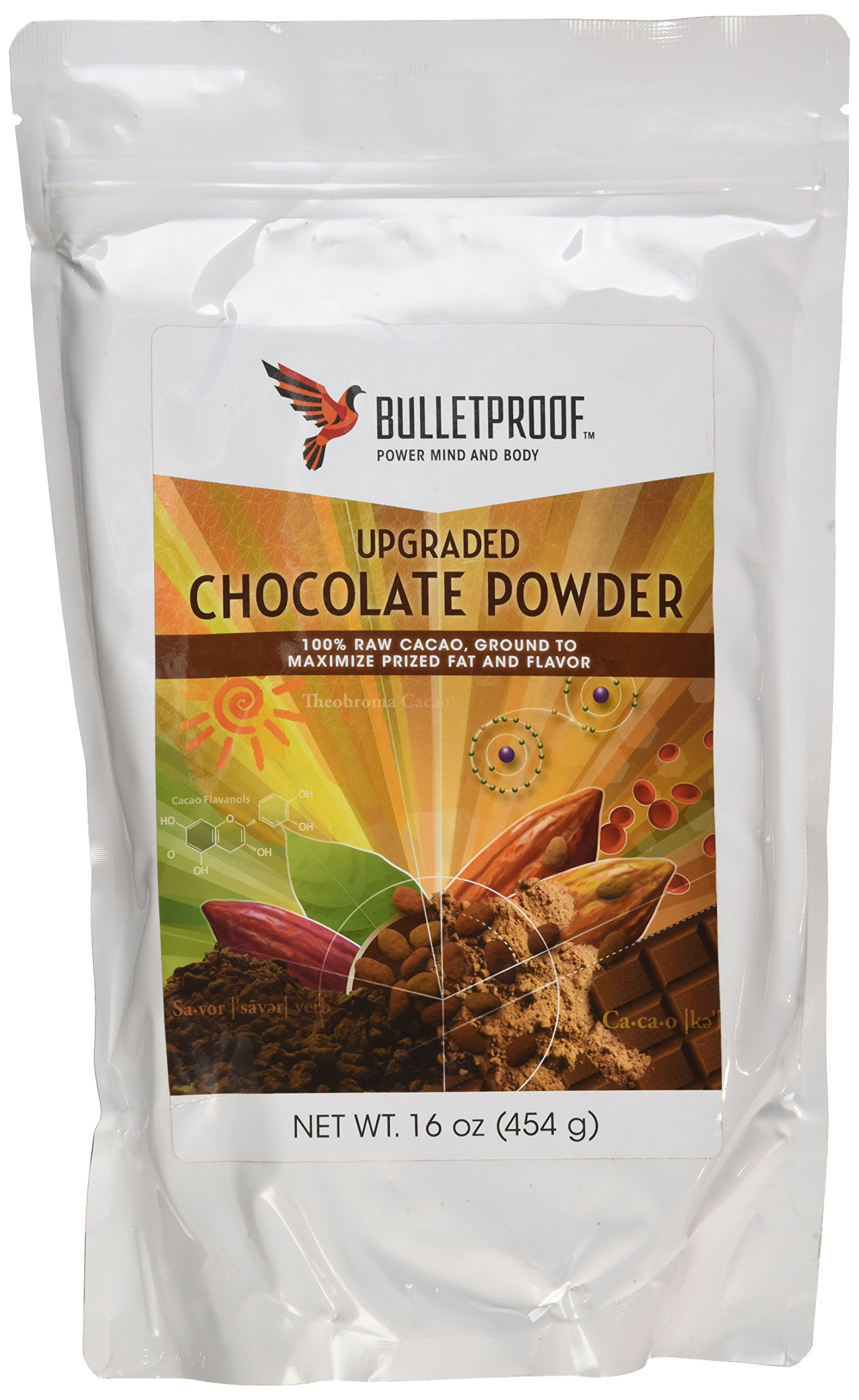 Bulletproof Chocolate Powder 16 oz