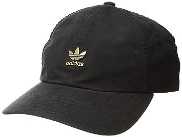 adidas Originals - Gorra de Metal Relajada para Hombre, Hombre, Color Black/Antique Gold, tamaño Talla única: Amazon.es: Deportes y aire libre