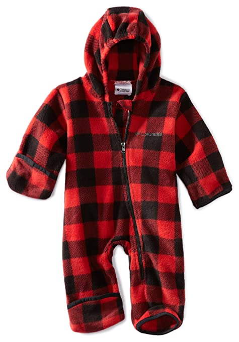 Columbia - Snowtop ii bunting rge bb - Combinaison de ski - Rouge - Taille 12m