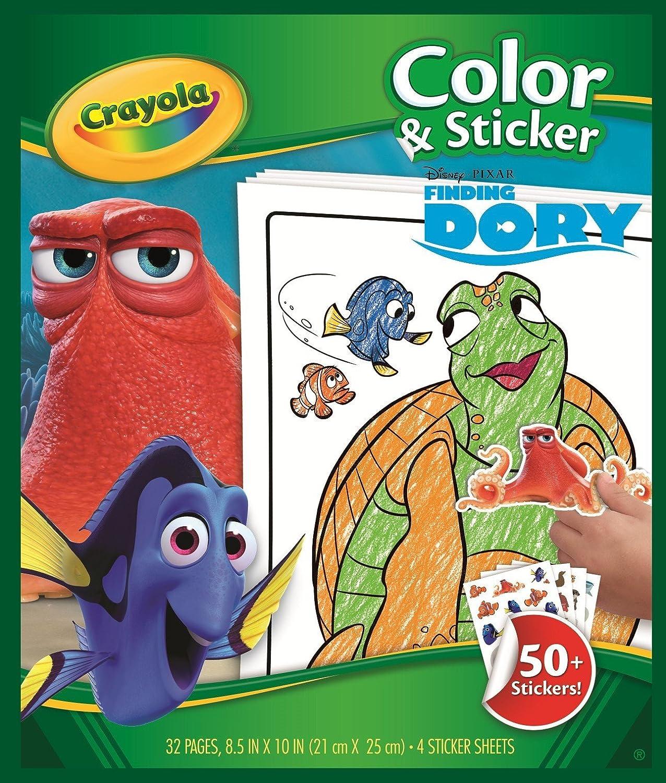 - Amazon.com: Crayola Finding Dory Color & Sticker Book: Toys & Games