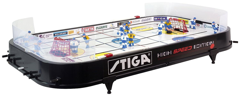 STIGA High Speed Hockey sur table Noir 90 x 50 x 8 cm STIIN|#Stiga 71-1144-20