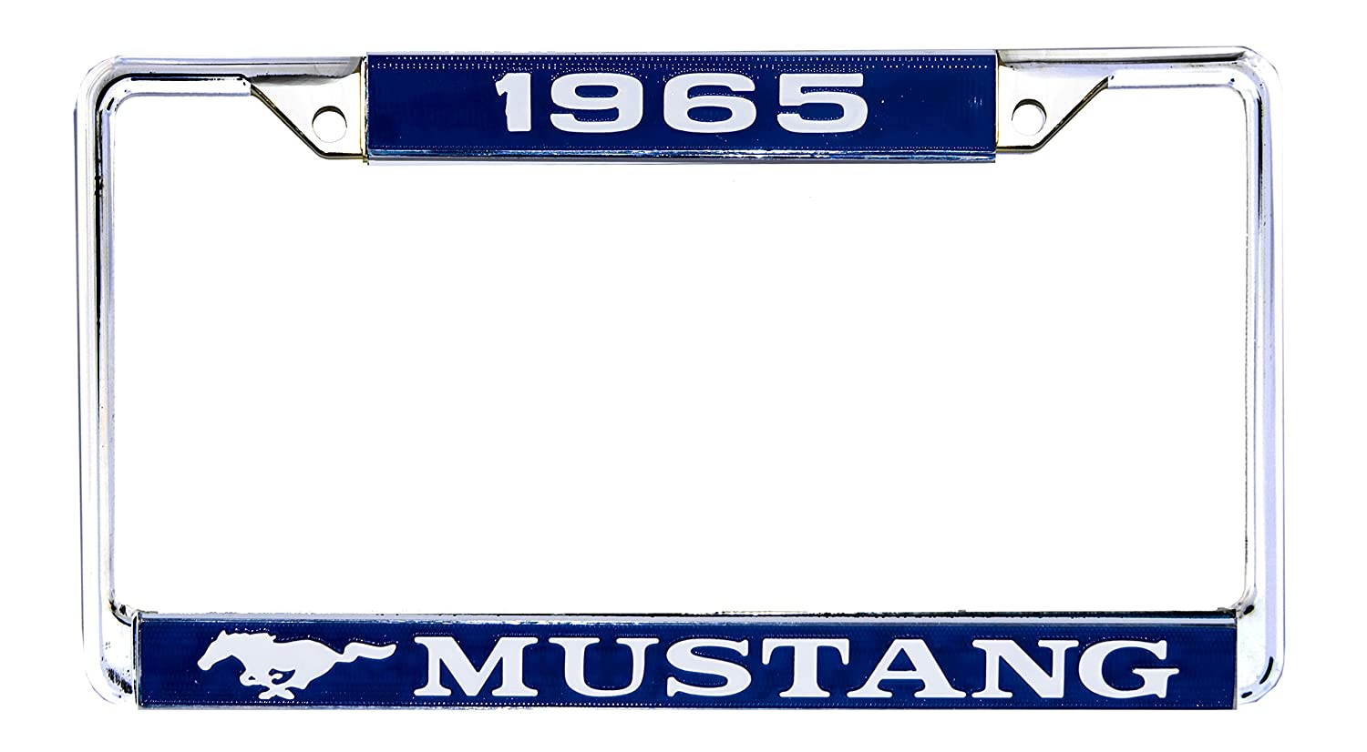 Amazon com mustang license plate frame 1965 automotive