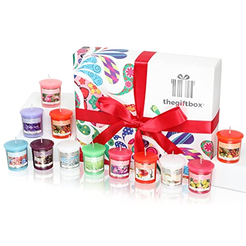 jellykiss luxury candle gift set with 12 scented wax candles scented candles gift sets
