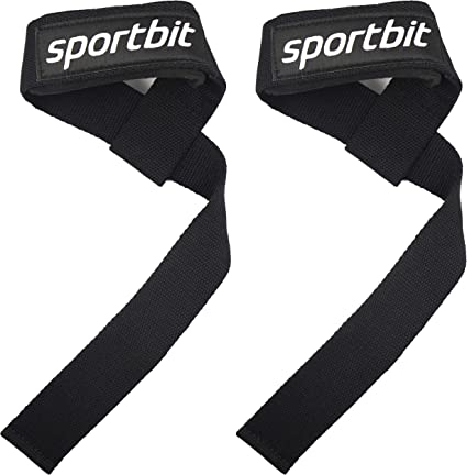 Rip Toned Lifting Wrist Straps Pair for Weightlifting Bodybuilding Powerlifting