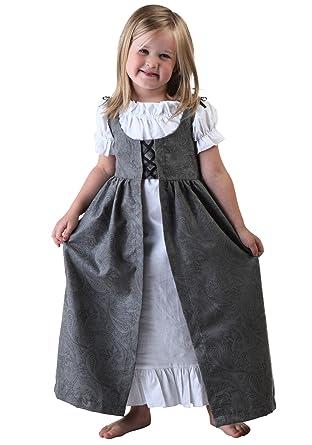 Little Girlsu0027 Toddler Renaissance Faire Costume Toddler  sc 1 st  Amazon.com & Amazon.com: Little Girlsu0027 Toddler Renaissance Faire Costume Toddler ...