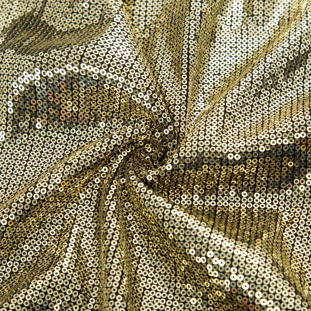 GRACE KARIN Top Donna Camicia Senza Manica con Paillettes Decorato Scollo a V in Chiffon Spalline Spaghetti