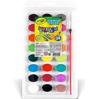 Crayola Lavable a Acuarelas, 24Count (53–0524)