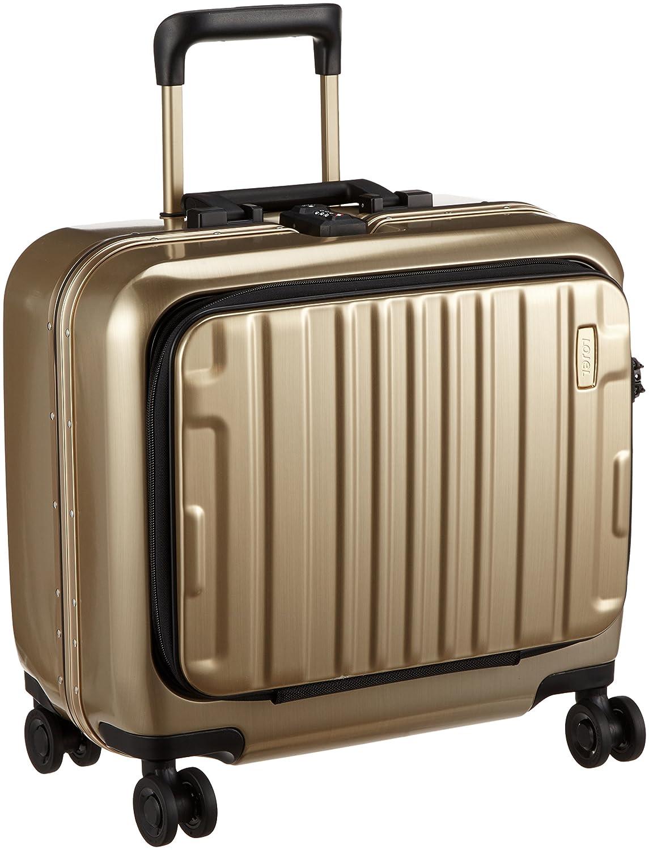 [ロジェール] スーツケース機内持込可 保証付 38L 43.3cm 3.9kg KOZMOS-SS B0791ZVGJPゴールド