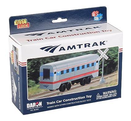 Daron Worldwide BL052 Trading Amtrak Train Car (136 Piece)