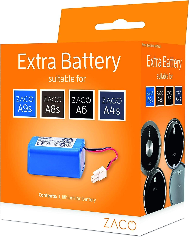 ZACO 501928 - Batería de Repuesto para Robot Aspirador A4s, A6 ...