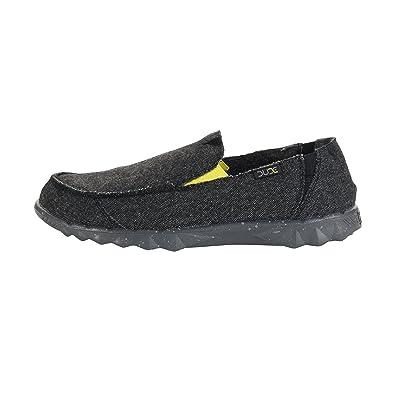 Dude Shoes Men's Farty Sox Knit Grey Azur Slip On/Mule UK7/EU41 r6TFOYNiY