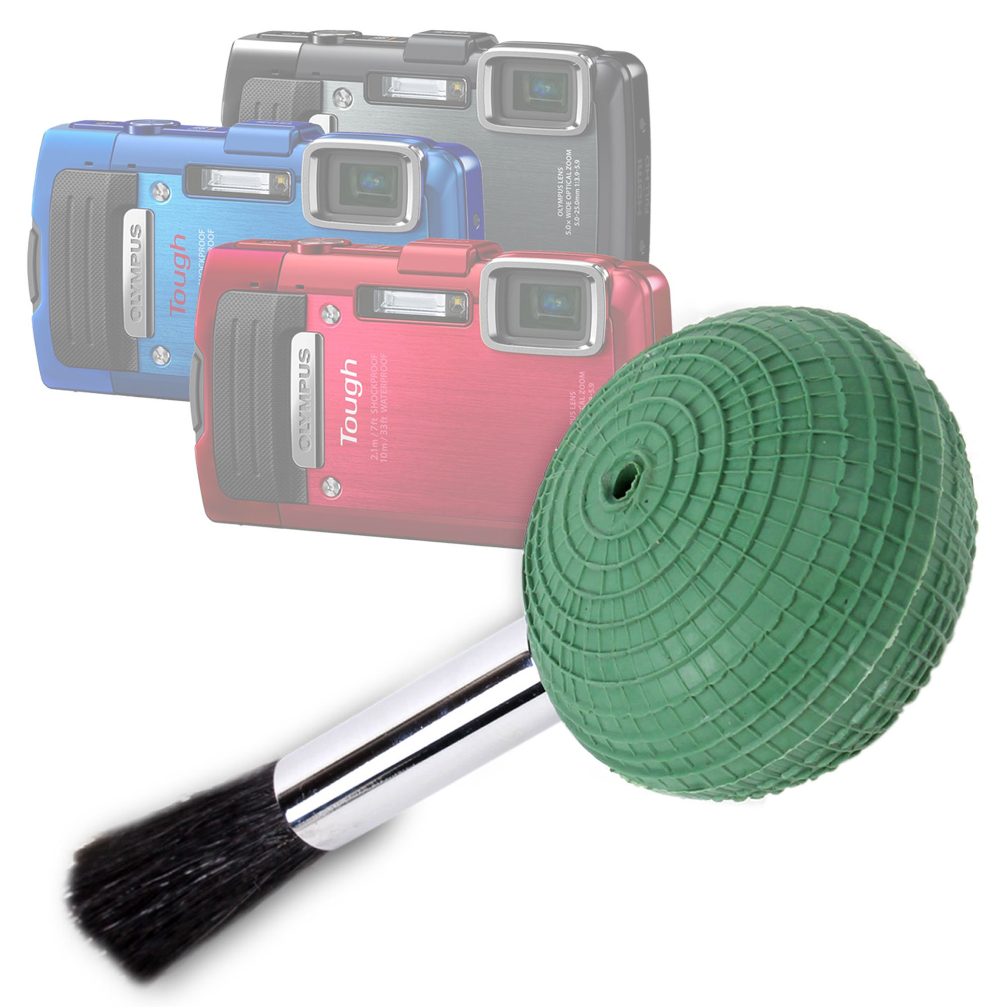 DURAGADGET Ultra-Fine Lens Blower Brush Cleaner for Olympus Stylus Tough TG-830 / TG-835 Digital Compact Camera